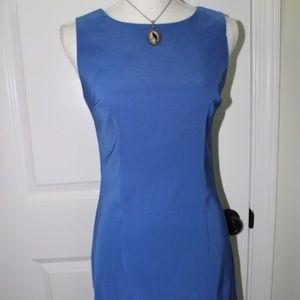 Royal Blue Sleeveless Body DressBarn Dress Size 4